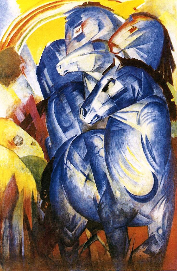 Башня синих лошадей