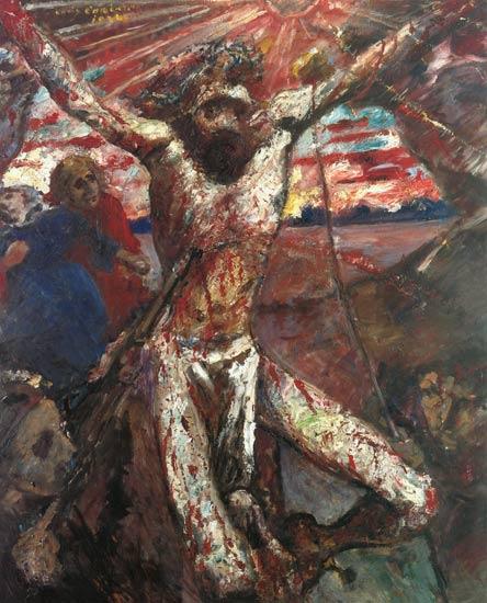 Пинакотека современности в Мюнхене Ловис Коринт Красный Христос