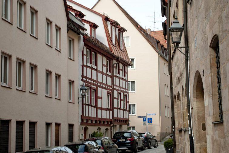 Нюрнберг достопримечательности фахверковые дома