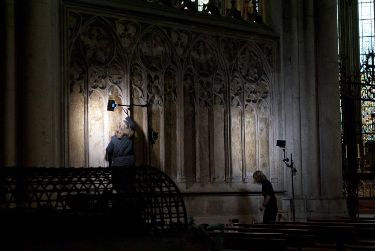 Кельнский собор внутри