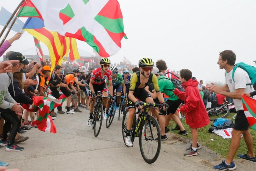 Simon Yates in La Vuelta 2018