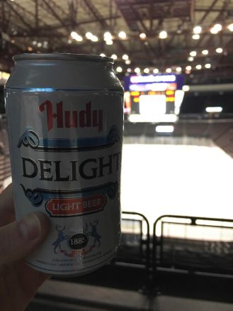 $1 beer night a the Cyclones game