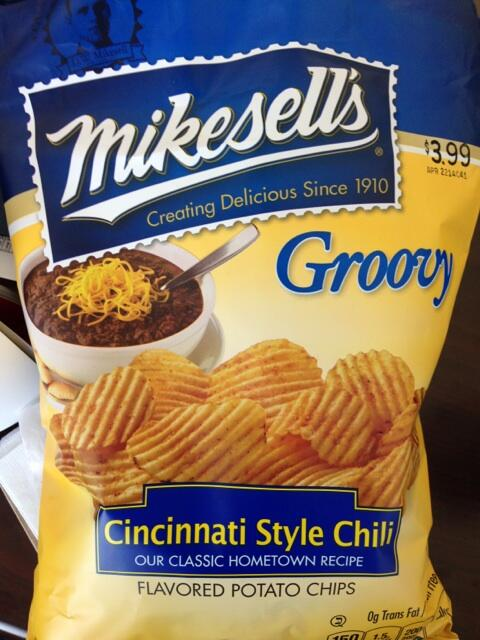 Cincinnati-style Chili chips by Mikesell's
