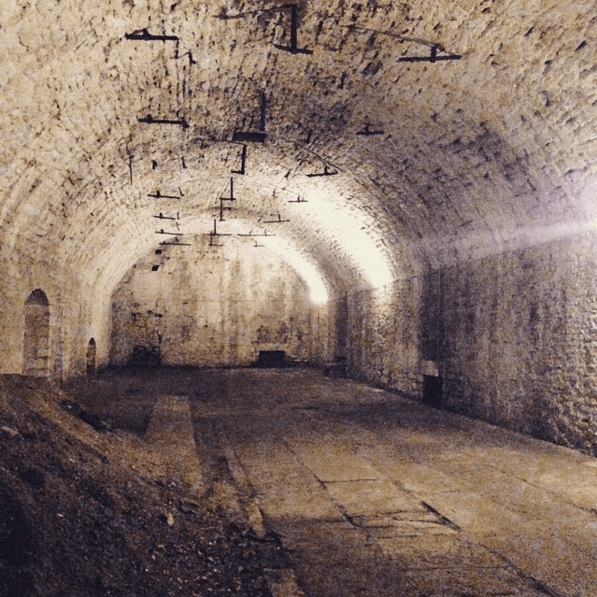 Lagering tunnel below Christian Moerlein Brewing Co.