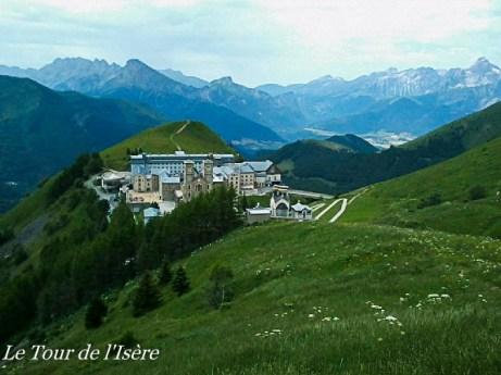 De Grenoble au Col de Menoux- Sanctuaire de La Sallette