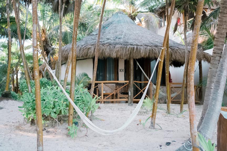 CUTEST BEACH FRONT HOTEL IN TULUM: ROSA DEL VIENTO