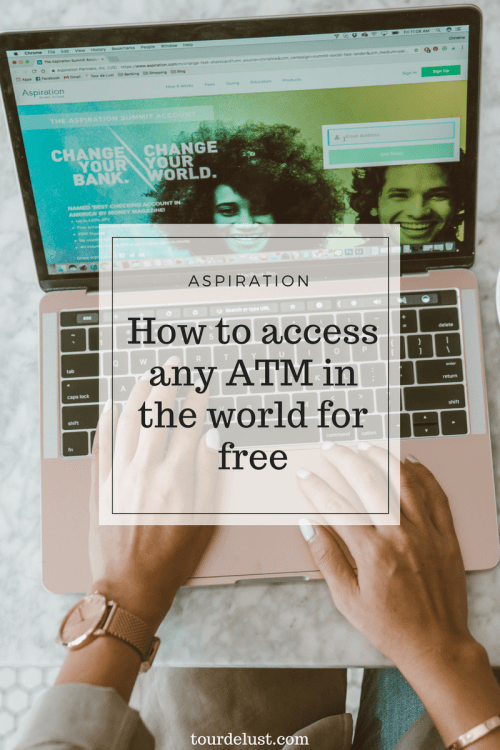 Aspiration- How to access any ATM in the world for free
