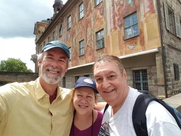 Nuremberg Tours in English with happy tour customers in Bamberg