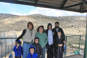 At the site of the Mishkan in Shiloh
