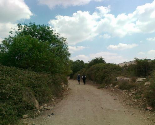 Hiking the Nachal Tzippori
