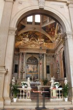 The Chapel of the Rosary was built to commemorate the Battle of Lepanto