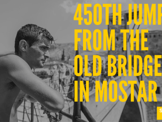 On Sunday, the 31st of July 2016, the 450th jumps from the Old Bridge in Mostar will be held in the period from 4 pm to 6 pm. Like every year, this will be a spectacle for those who love the adrenaline, and tens of thousands of spectators are expected on the banks of the Neretva River. Winner in jumping on the head last year was Lorens Listo, while victory in the jumps on the feet went to Adis Boskailo. That was Listo's 9th victory. Participants are jumping from a height of 27 meters in the cold Neretva River, which requires both physical and mental preparation, and mostly it takes courage. Minors are jumping with parental consent.