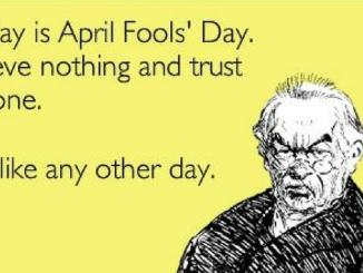 Aprils fool day