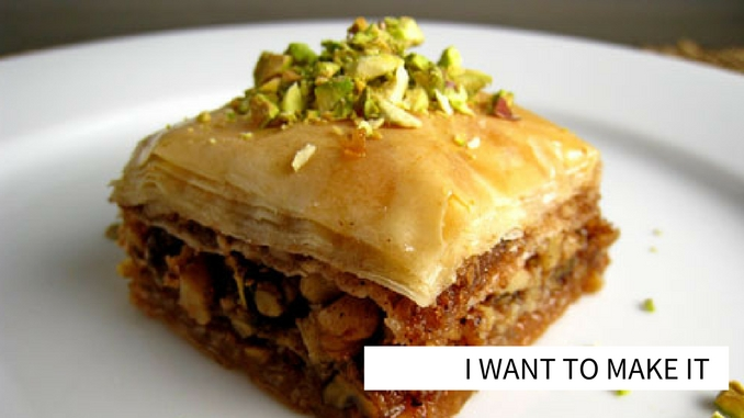 baklava for ramadan