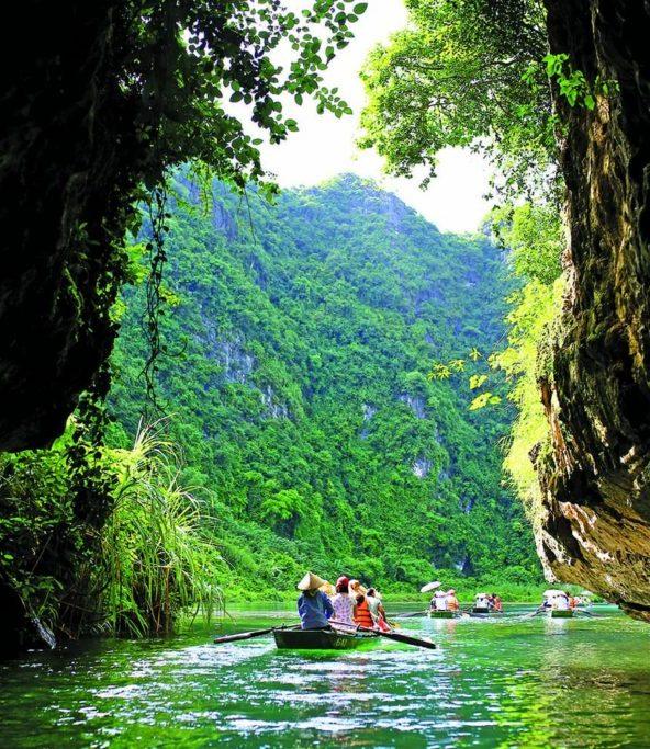 Trang an cave Ninh Binh 1024x683 Vietnam family Tour North to South 14 Days