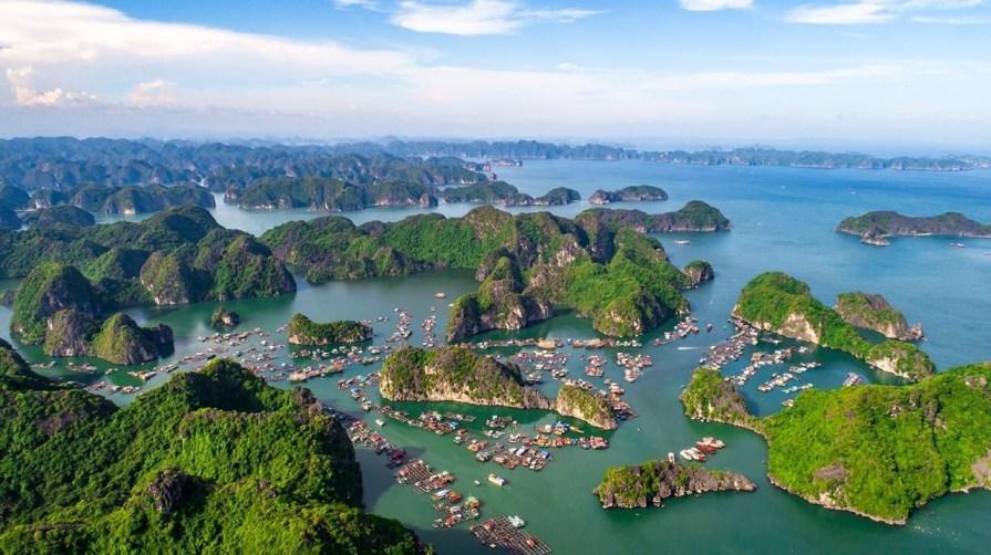 Halong bay hanoi itinerary 7 days 1024x575 Hanoi Itinerary 7 Days one week Halong Bay 8211 Ninh Binh 8211 Sapa Tour