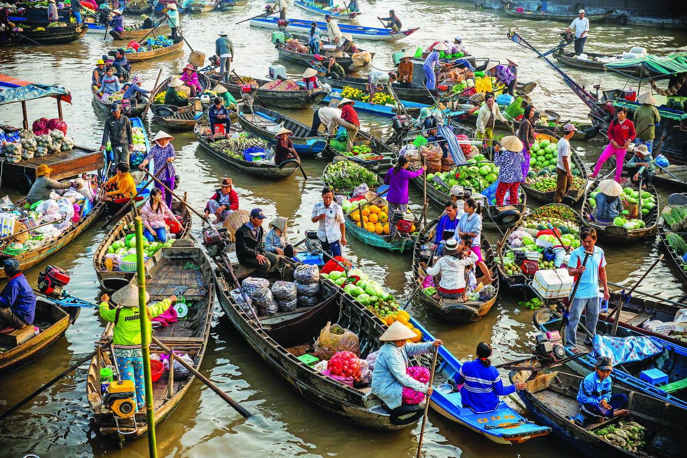 Ho chi minh can tho market tour Day Trips from HCM