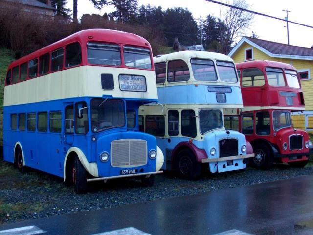 Alert Bay Busses Double Decker
