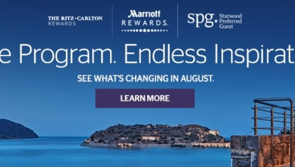 SPG Marriott Changes August