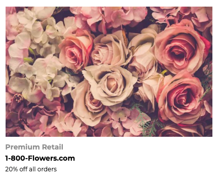 FoundersCard 1-800-FLOWERS Discount