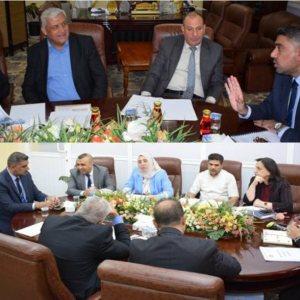 اجتماع اللجان القطاعية لكليات العلوم السياحية على مستوى العراق لغرض توحيد المقررات الدراسية