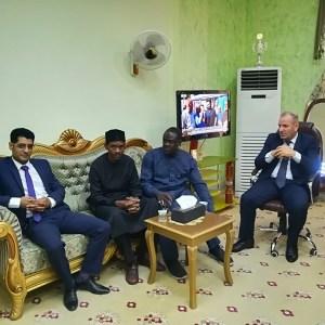 زيارة وفد من جامعة احمدو بللو في نيجيريا الى كلية العلوم السياحية