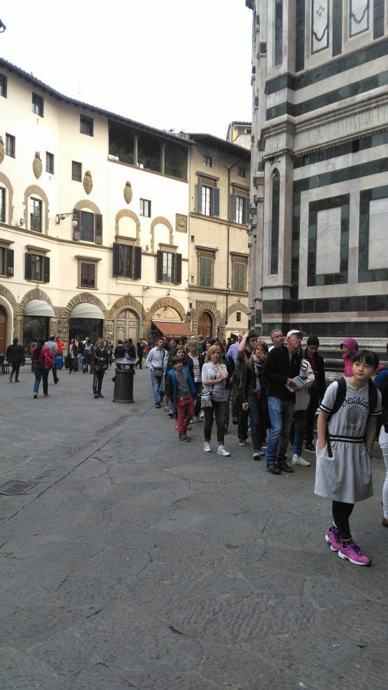 In Florence skip the line