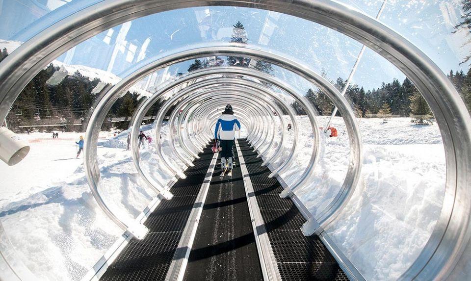 ski montcalm premier tapis roulant