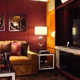 King Premium Suite Media Room