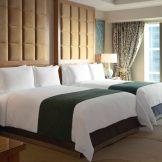 Two Queens Deluxe Suite Bedroom