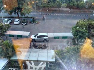Aquamarine Hotel Chandigarh View FRom Room