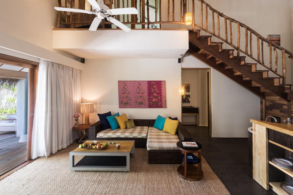 2 Bedroom Nirvana Suite with Pool Living Room 3