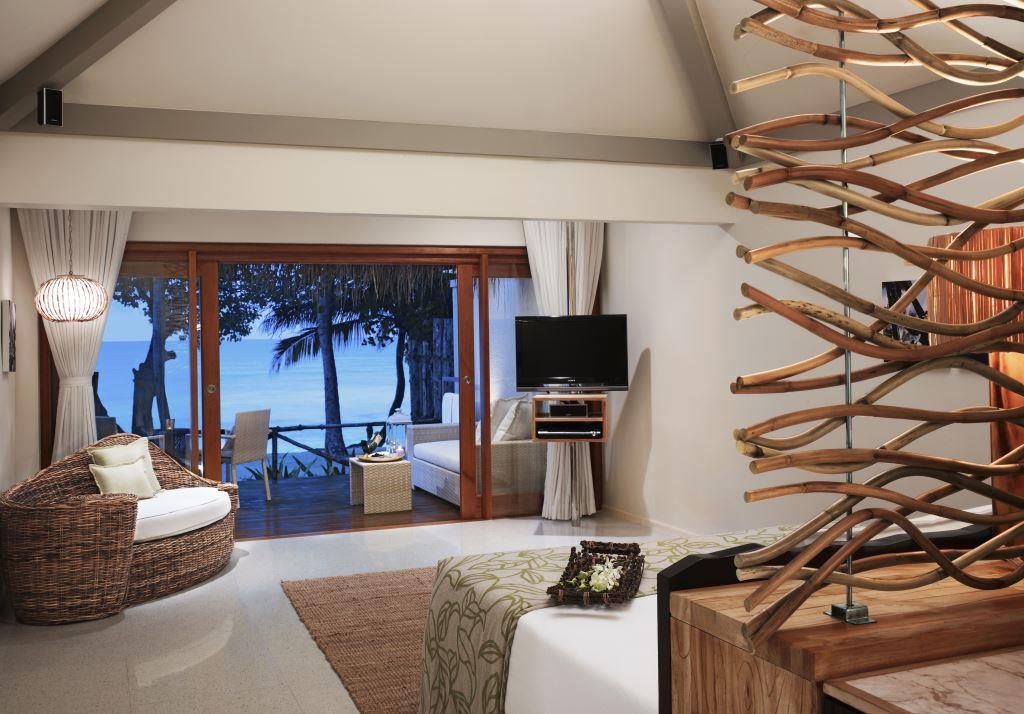 Deluxe Delight Beach Villa Bedroom 1