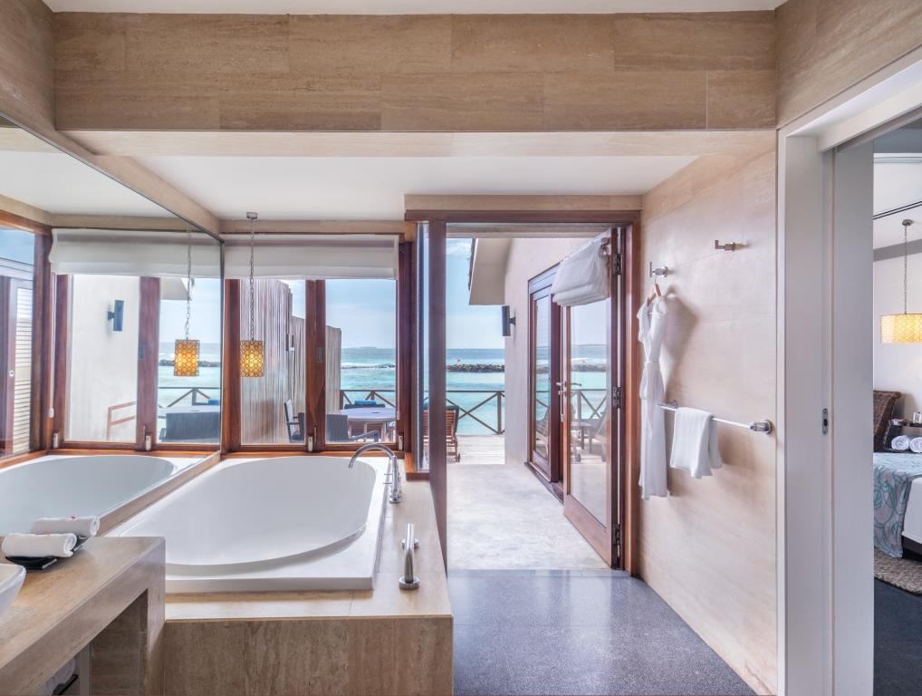 Premium Indulgence Water Villa Bathroom 3