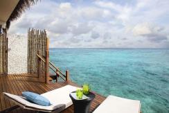 Premium Indulgence Water Villa Deck 1