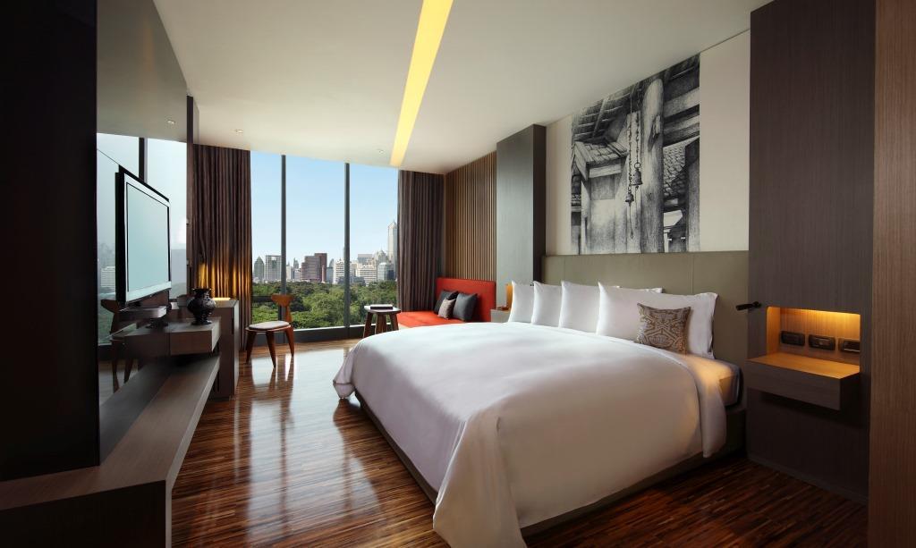 SO Sofitel Bangkok – Wood Room