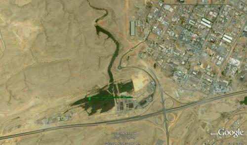 Google Earth Ansicht von Al Ansab