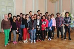 Welcome to Austria. Ein Besuch des Tourismusbüros im Schloss Bad Vöslau