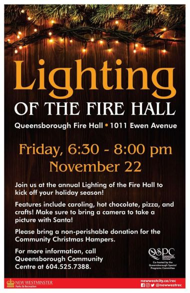 Lighting of the Fire Hall