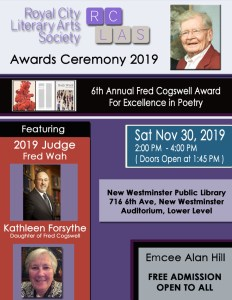 cogswell award for excellence in poetry