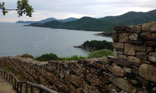 Προ του Άθω περιοχή - Άποψη από τον Αριστοτελικό περίπατο