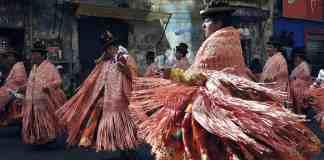 Dansende cholita's
