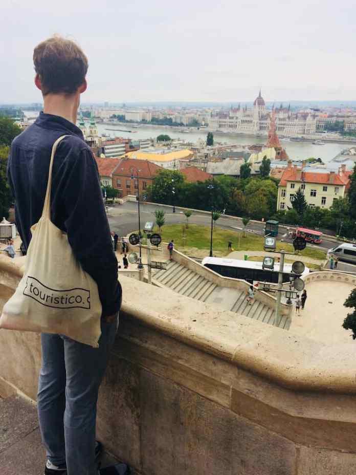 tas met uitzicht boedapest