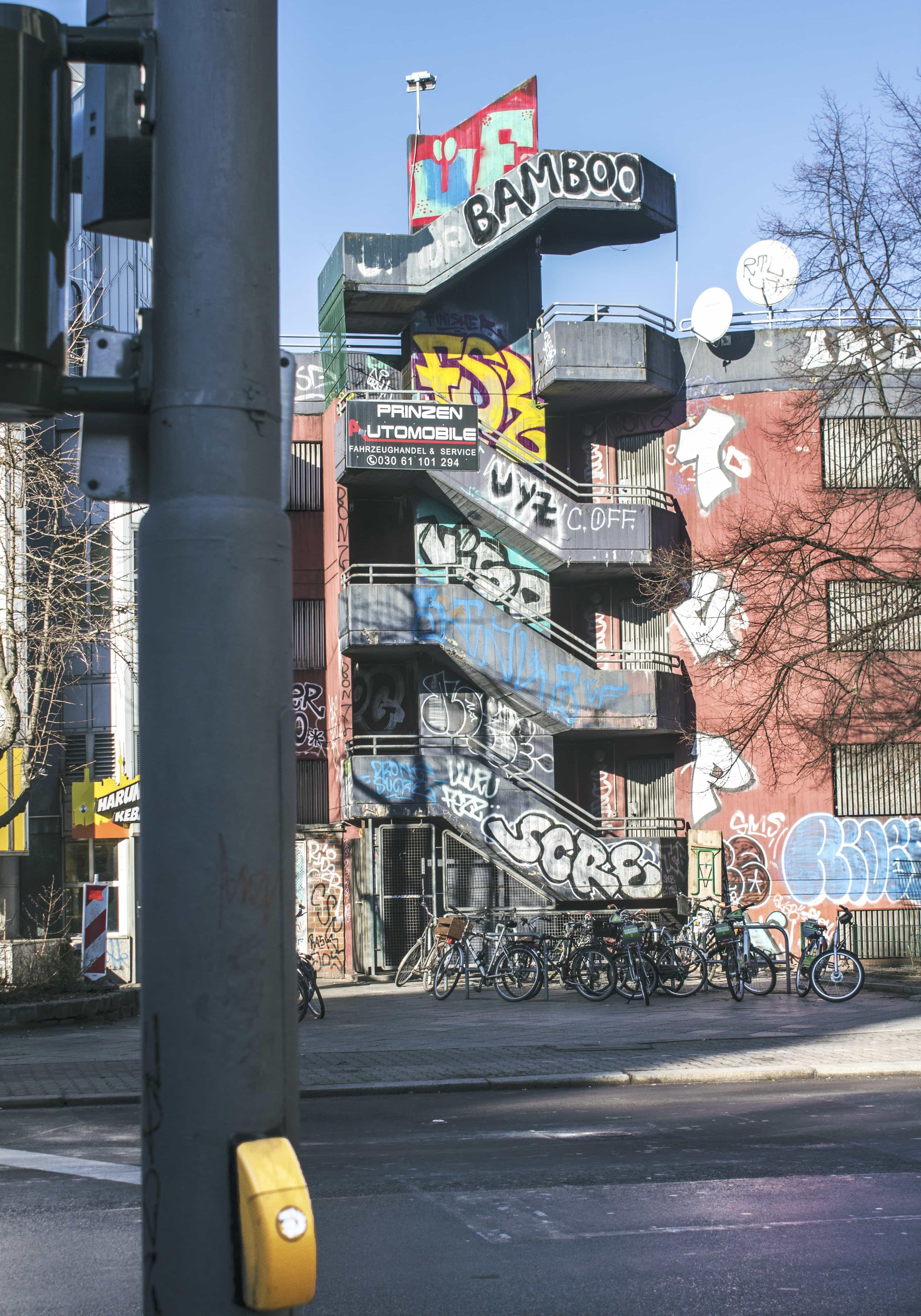 graffiti, Berlijn, gebouw