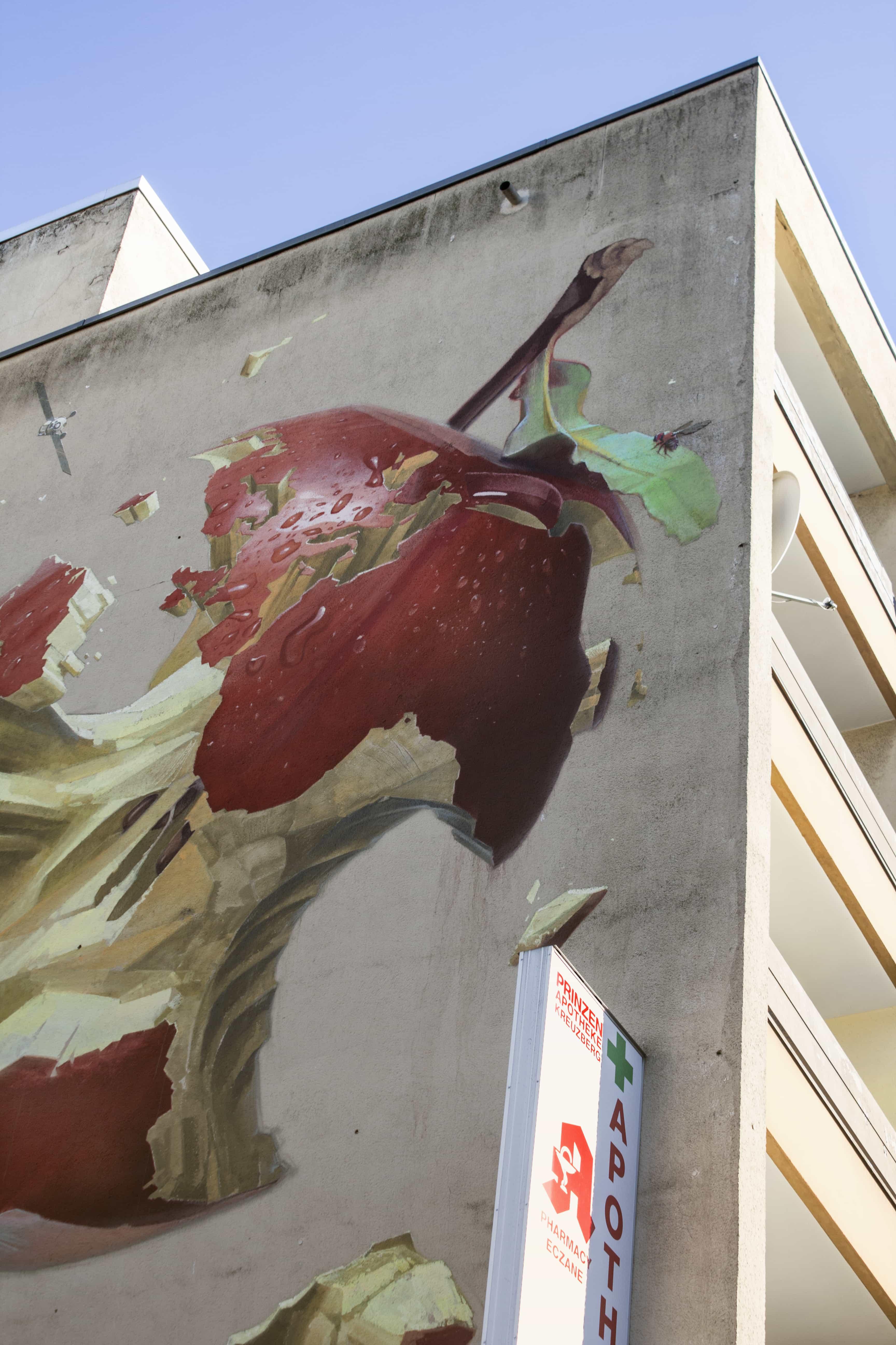 Berlijn, muurschildering, wall-art