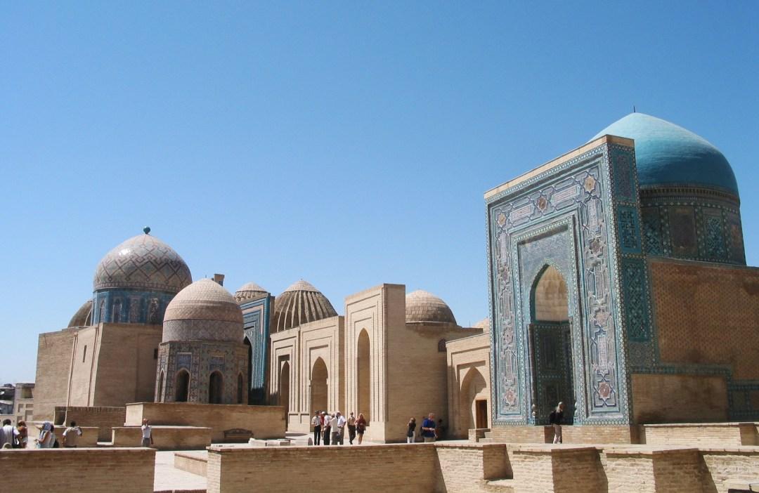 La nécropole Shakhi-Zinda (Samarcande) © Doca Tours