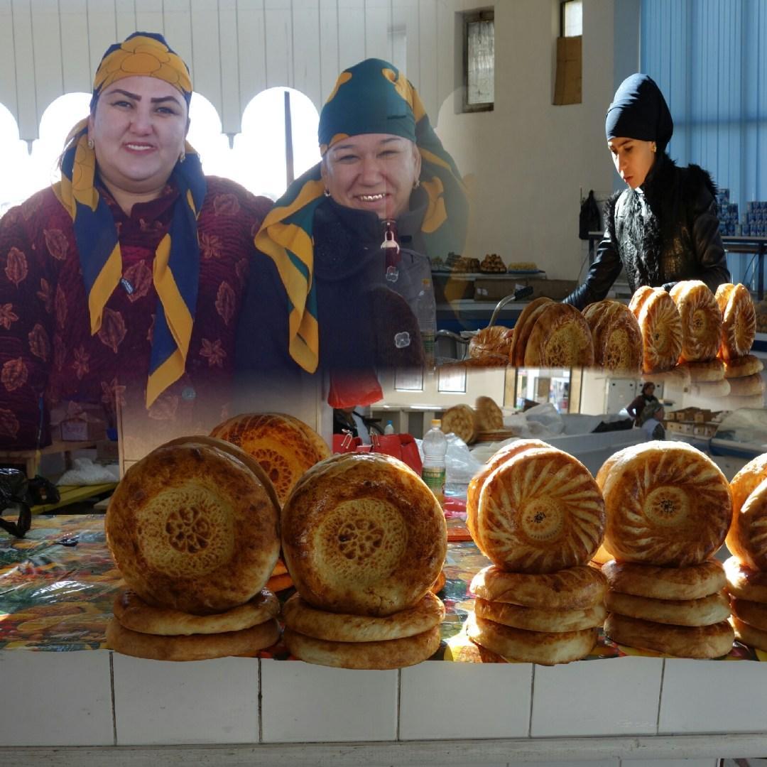 Le marché de pain