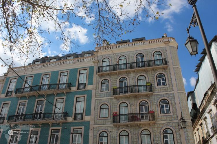 Centre ville de Lisbonne au Portugal