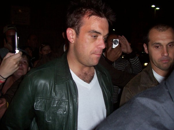 Robbie Williams à Paris