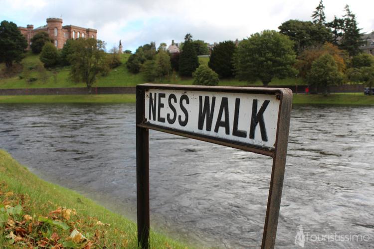 Centre ville d'Inverness Ecosse